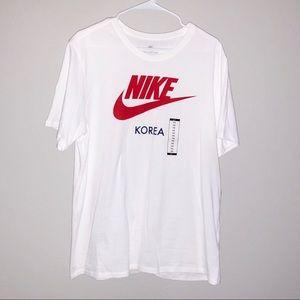 NWT NIKE Korea Swoosh Short Sleeve tee for Men XXL